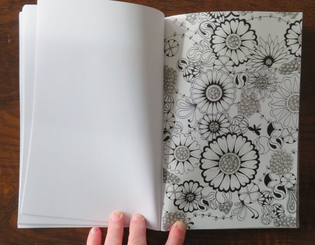Black and White Patterns Zentangle
