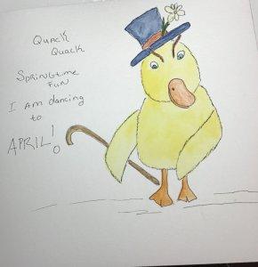 #Doodlewash duckling Springtime EA44D79D-D1DB-4297-846F-B9D9C46FE90A