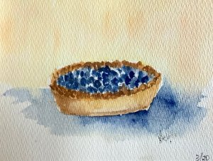 #doodlewashmarch2020 day 29 pies IMG_1712