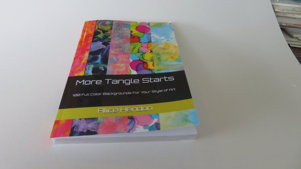 More Tangle Starts Book Side View