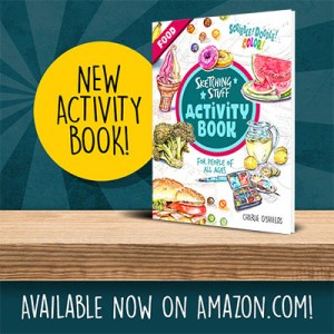 Sketching Stuff Activity Book Food Promo Square