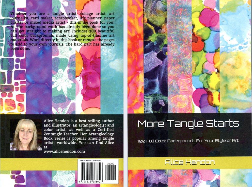 More Tangle Starts Book Cover Alice Hendon