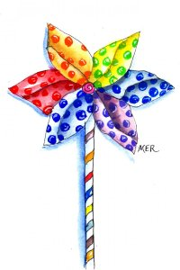"""4/5/20 Windmill I loved these \""""windmills\"""" when I was a kid and seeing them, even now,"""