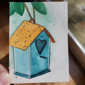 Changed it just a bit and went with a bird house I want to say thank you to this group! You\'v