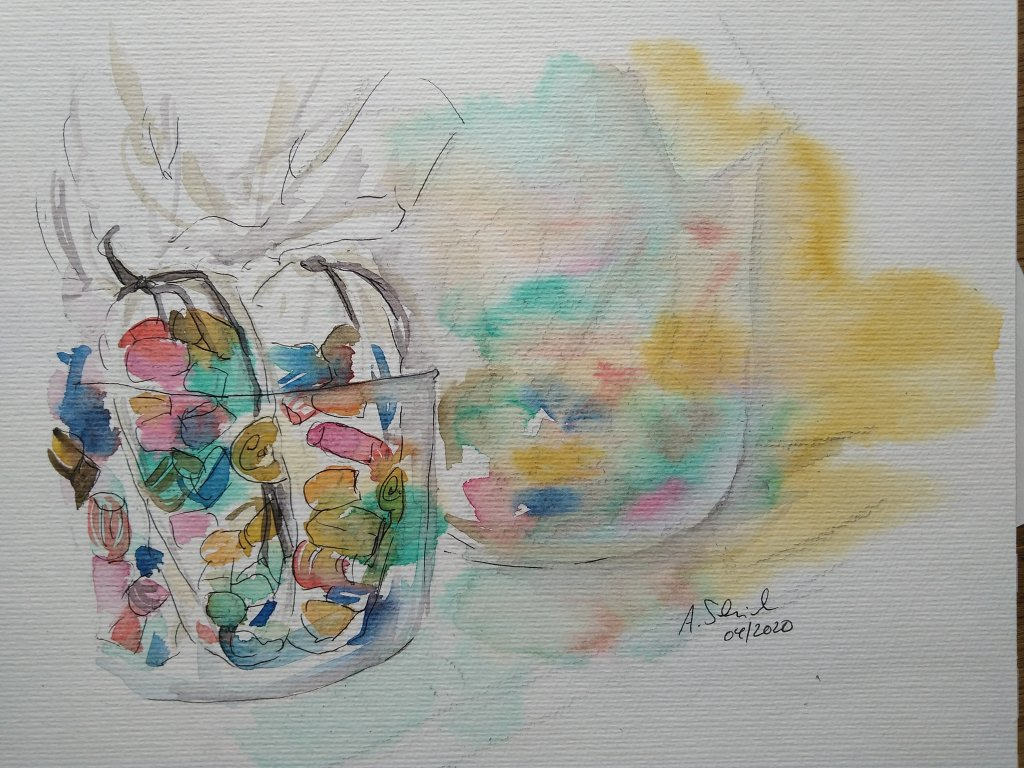 day 29: candy. #doodlewashApril2020_29candy