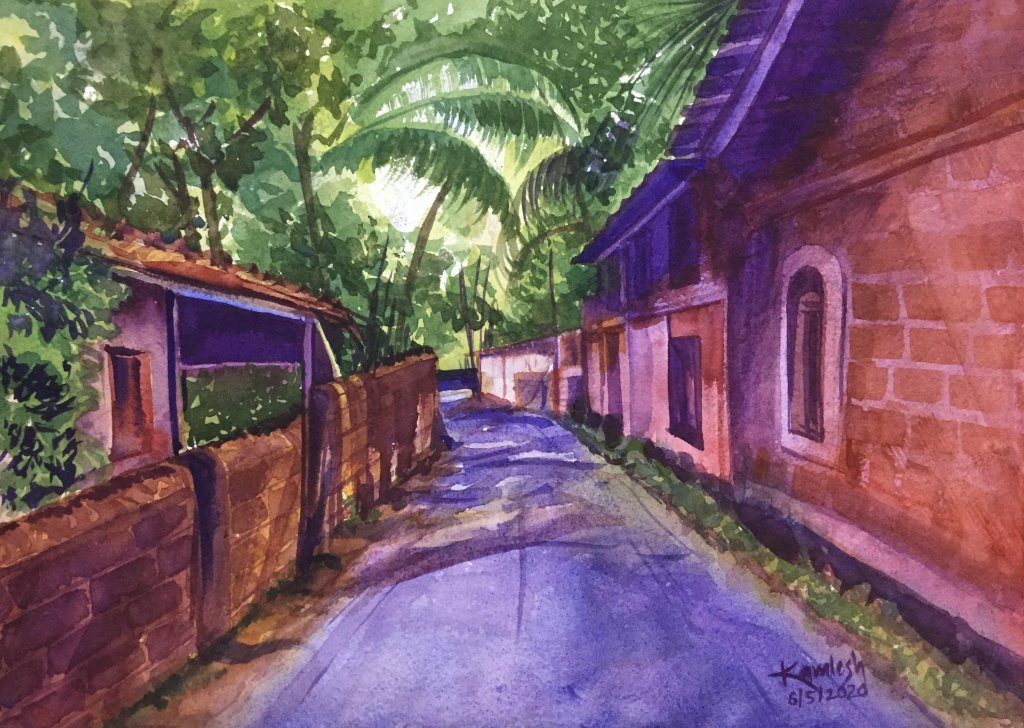 Watercolor on HM paper Landscape 6-5-2020WhatsApp Image 2020-03-28 at 6.14.17 PMWhatsApp Image 2020-