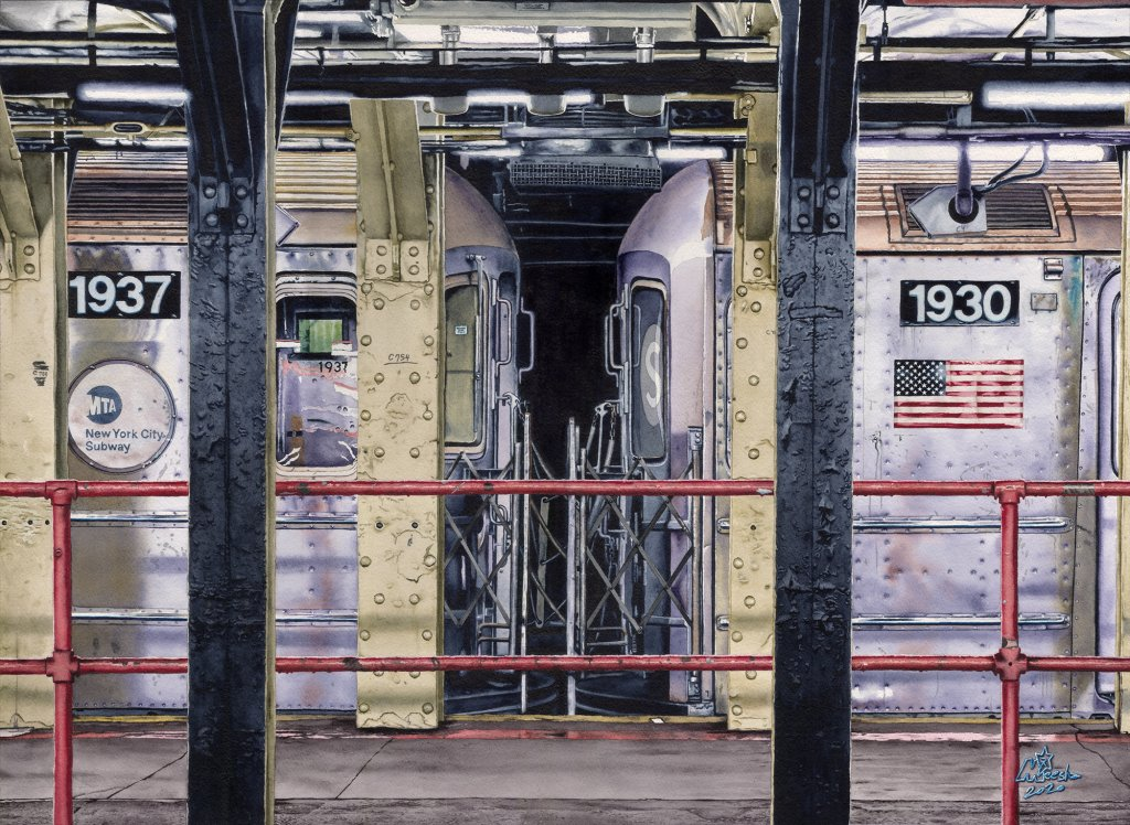 1937…One more NYC subway watercolor 1937_2k