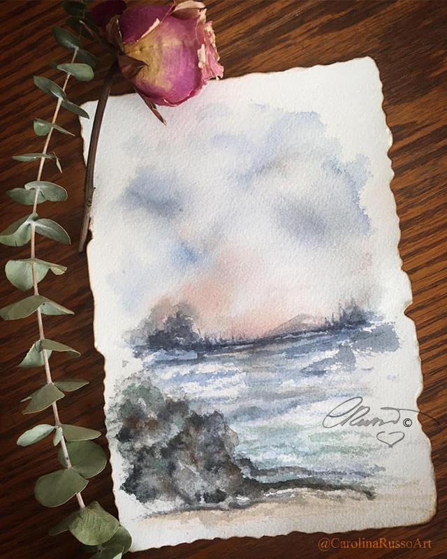 World Watercolor Month 2020 – Day 7 Free Day 7 Free _s
