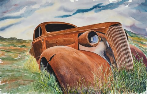 Gary Johnson Watercolor Painting Master Coupe