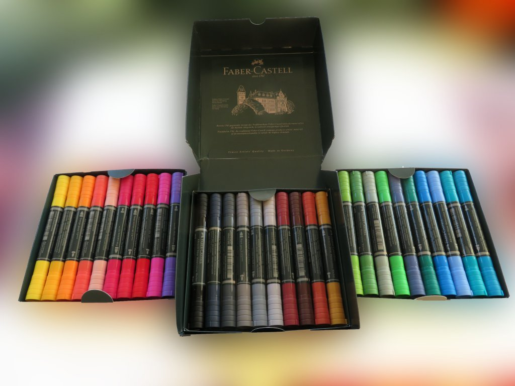 Albrecht Dürer Watercolour Markers Photo of 30 Watercolor Set