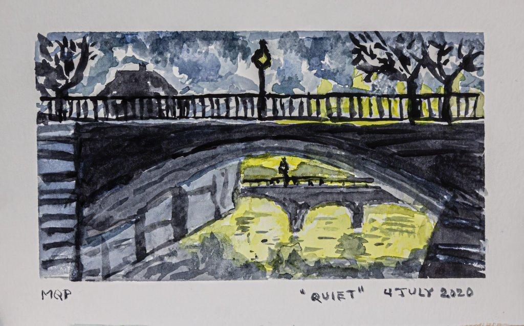 """World Watercolor Month Prompt """"Quiet"""" quiet1_4Jul20_blog"""