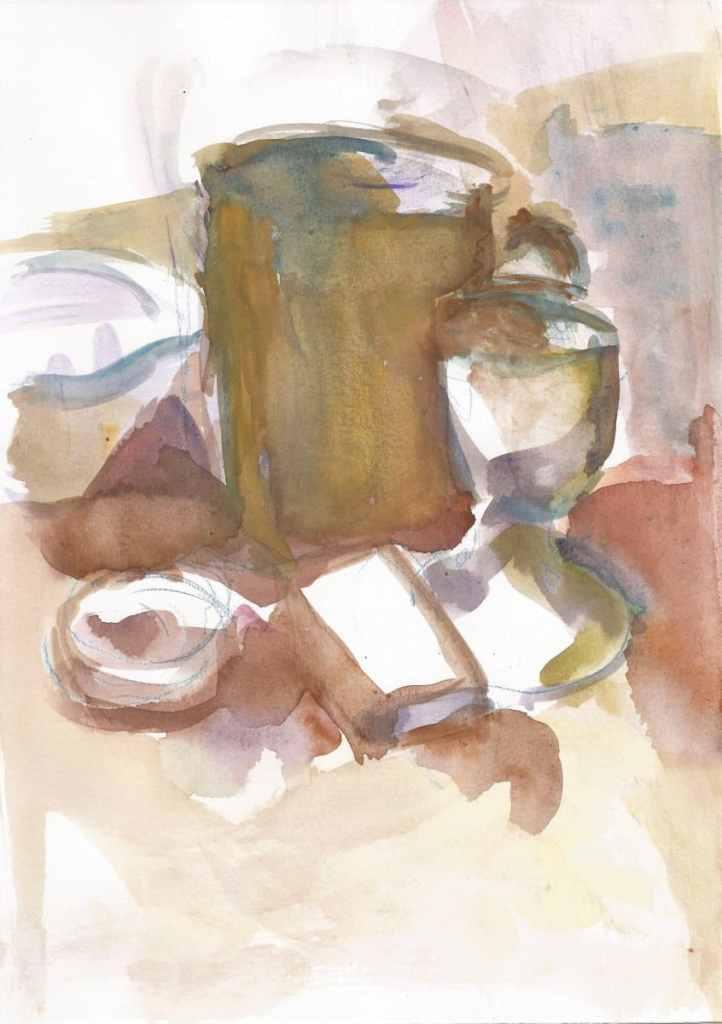 Still life, watercolor, format A4, 2019 25(1)_21x29.7_2019