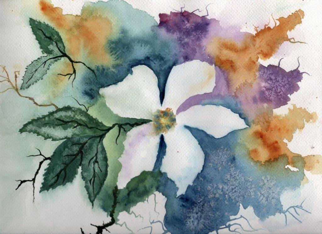 Apple blossom, again inspired by the teachings of Ann Blockley. 6211E76B-682E-49FF-84AF-29B006546921