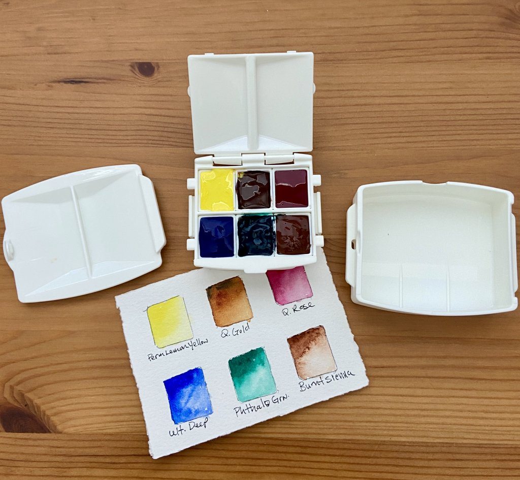 Portable Painter Micro filled palettes