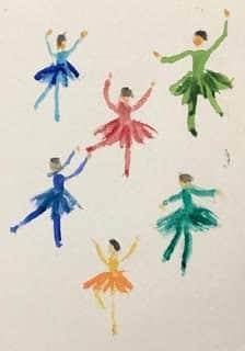 #doodlewashaugust2020 day 12: dance: dance practice dancers