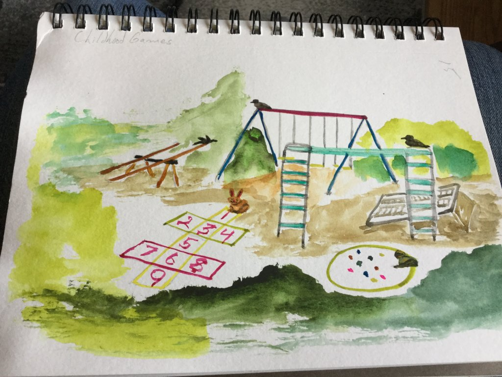 Children play station, snack time. 0749AB4A-5055-42C3-9C06-418FF2DCB251E1F2A4B4-9401-45DD-BB2B-77E53