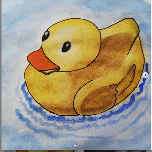 Watercolor 23 September 2020 Duck