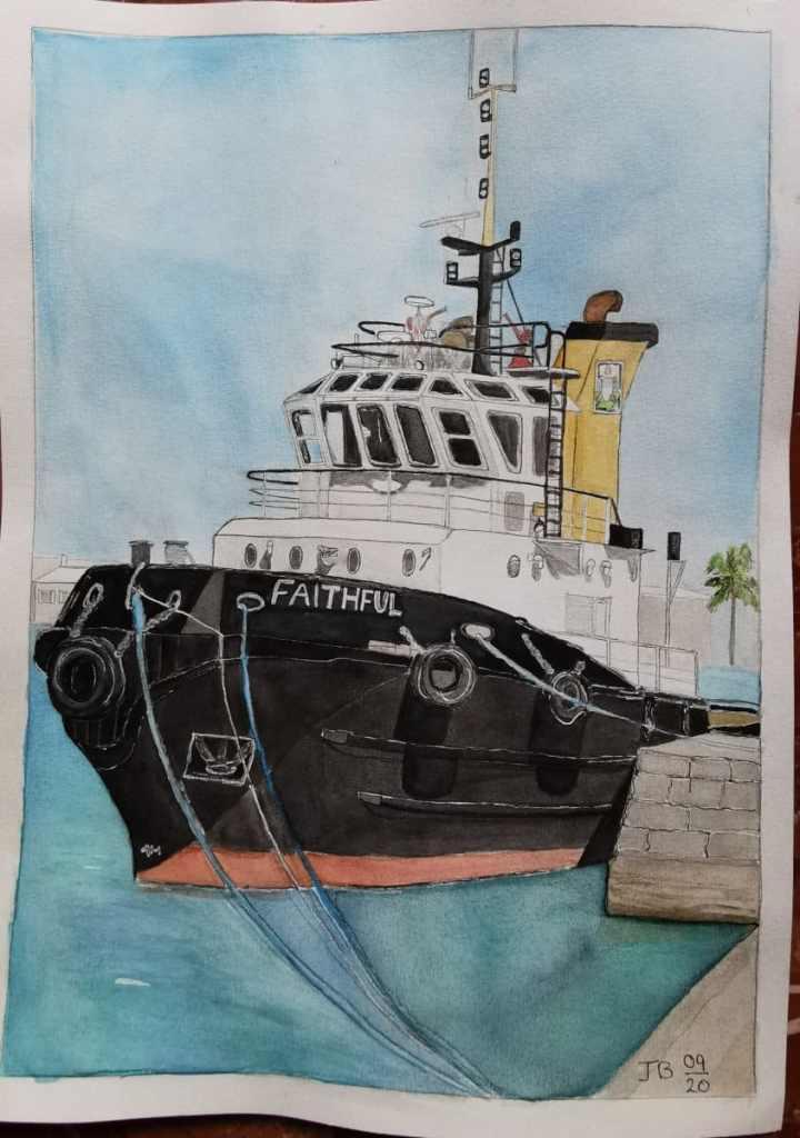 Tug Boat Faithful. Bermuda. IMG_20200917_131908