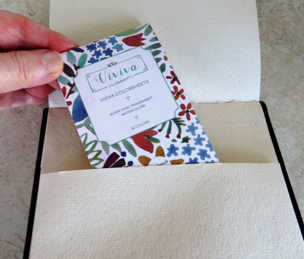 Viviva Sketchbook Interior Pocket