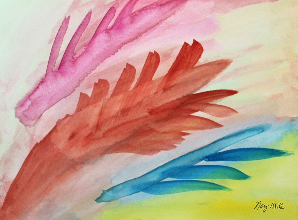 Dreams Do Come True Watercolor Painting