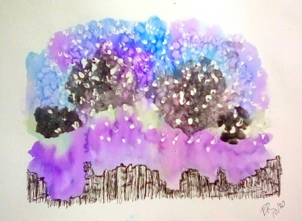 "Today's watercolor challenge ""Star"" IMG_20201023_123818_kindlephoto-506200747"