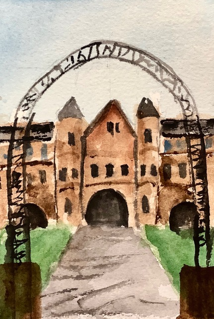 #doodlewashoctober2020 day 24: School; North Eastern State University, Tahlequah, Oklahoma, USA IMG_