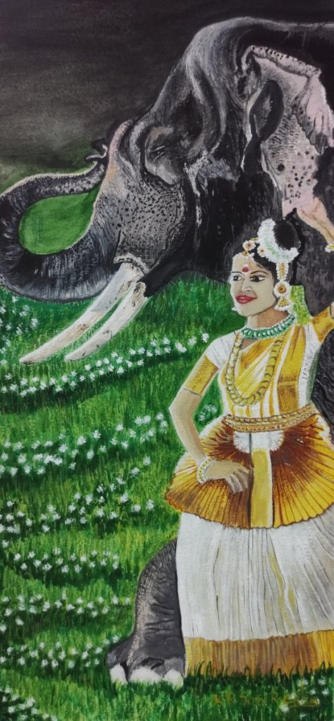 Mohiniyattam is one of the famous classical dances of India that developed and remained popular in t
