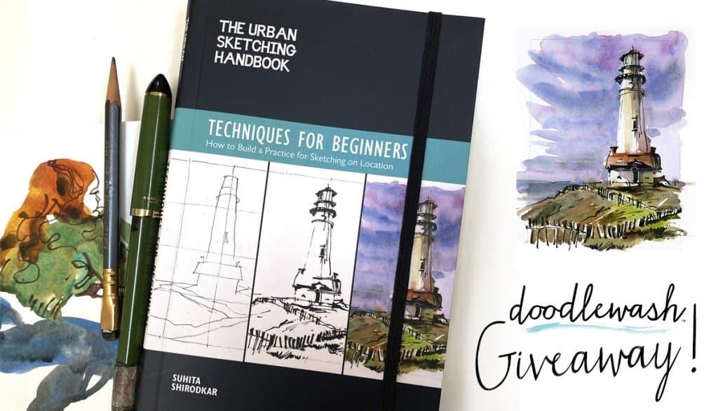 Urban Sketchers Handbook Giveaway Nov 2020 Sharing Image