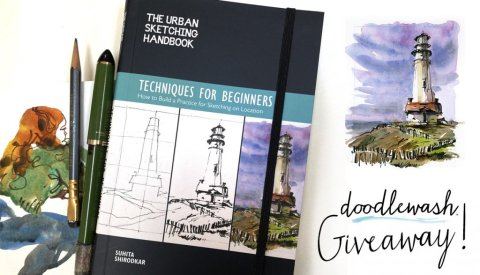 Urban Sketchers Handbook Giveaway Nov 2020 Sharing Image