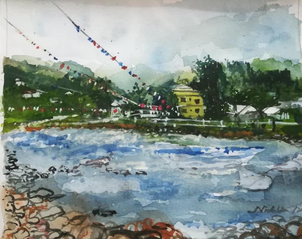 Paro River, Bhutan 2019 IMG_20200424_140919