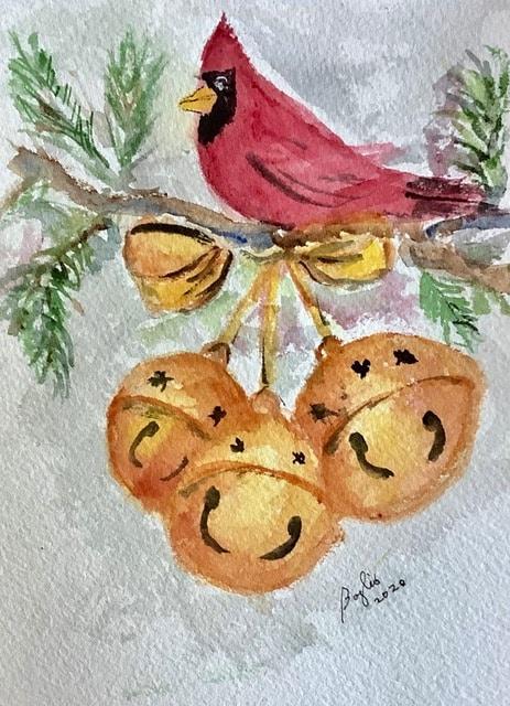 #doodlewasndecember2020 day 17 Sleigh bells IMG_2661