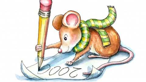 Mouse Drawing With Pencil 2000 Days Daily Sketching Drawing Watercolor Painting Illustration