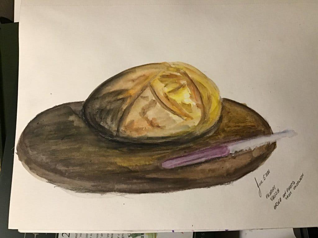 Fresh baked bread 267FC3C6-C6DB-4205-91F2-E7246A63CFFF