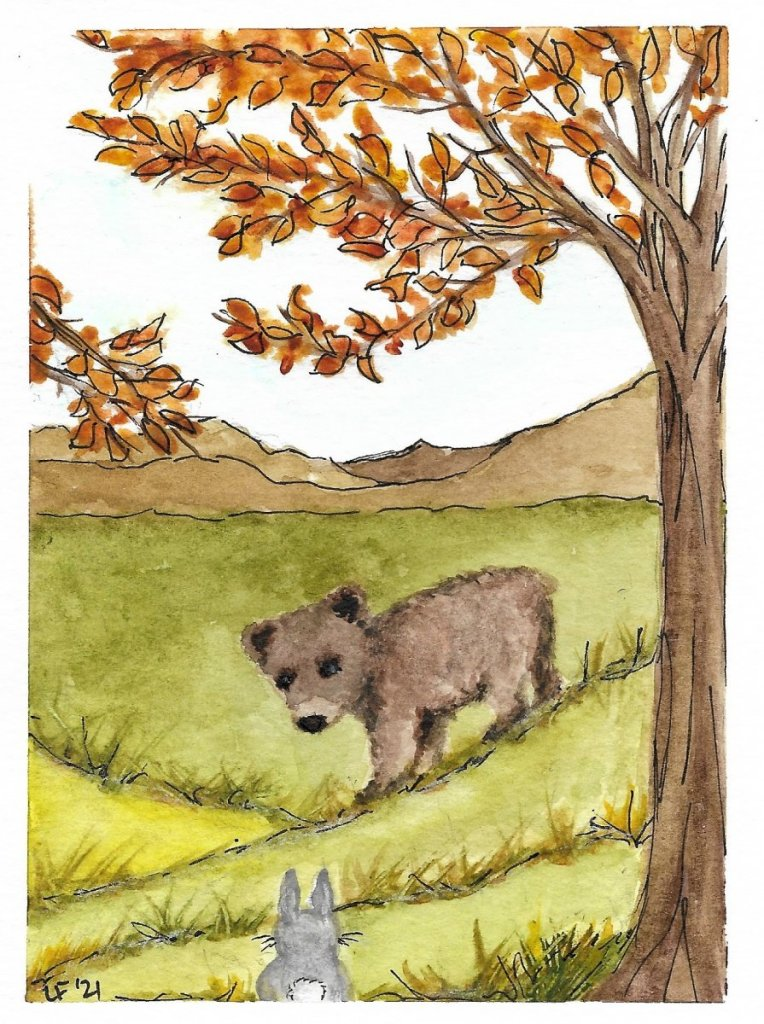 Cub Goes For a Walk I love Maurice Sendak's Little Bear Illustations! This doesn't equal