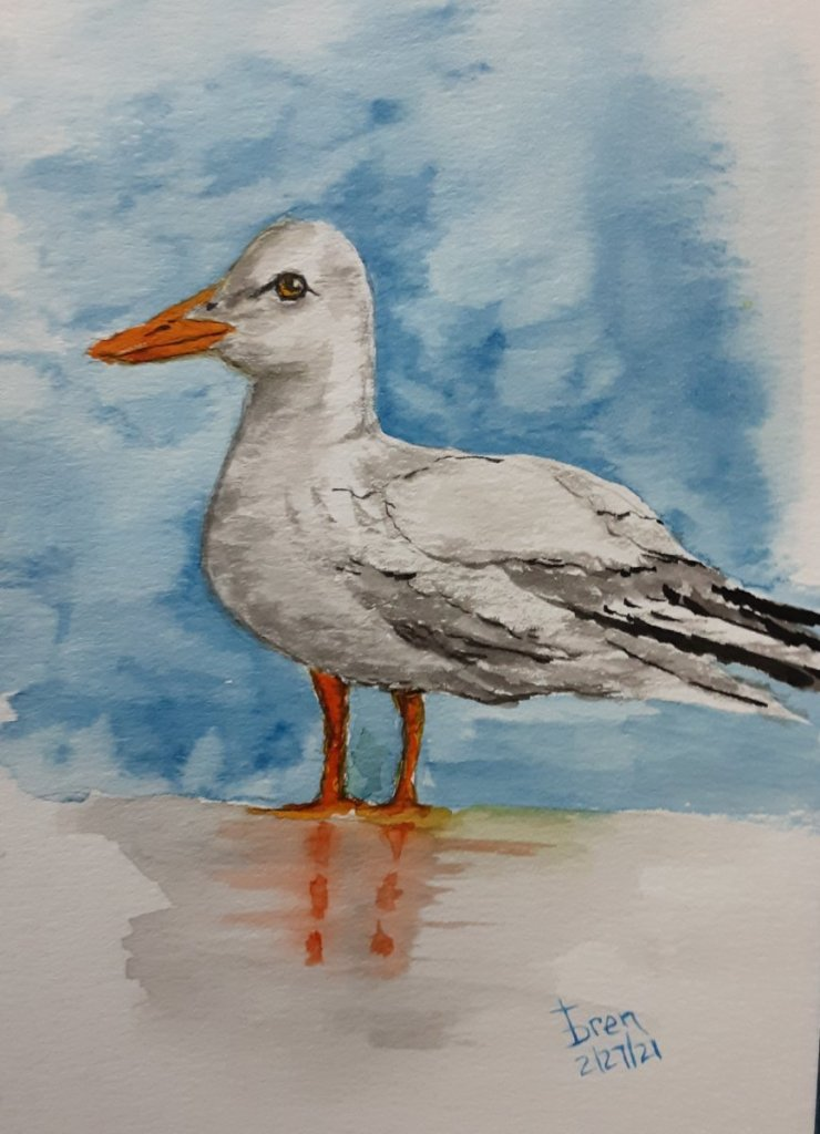 Here's my SEABIRD, had a lot of fun doing this one 20210226_103218