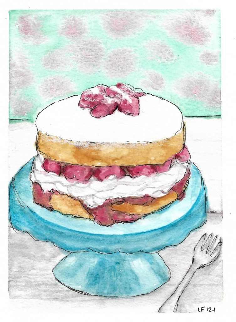 Sponge Cake aka Strawberry Shortcake 🙂 Sponge Cake