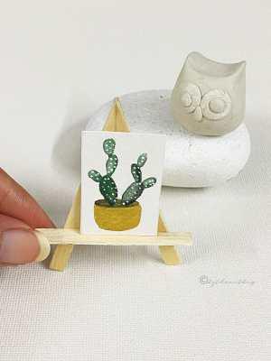 bytheartbug (1) Watercolor Miniature Painting