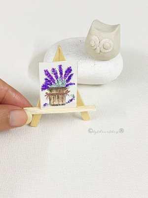 bytheartbug (2) Watercolor Miniature Painting