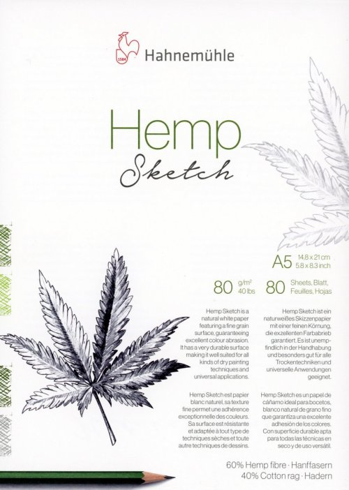 HEMP Cover Hahnemuhle sketch paper