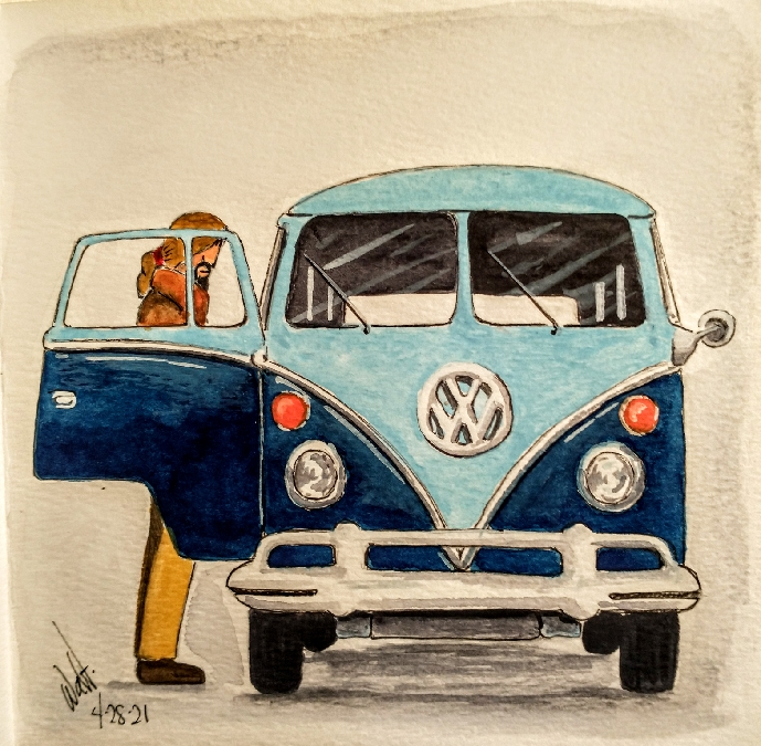 Who do not remember the 70's? What a time to experienced. The VW wagon was the vehicle that ma