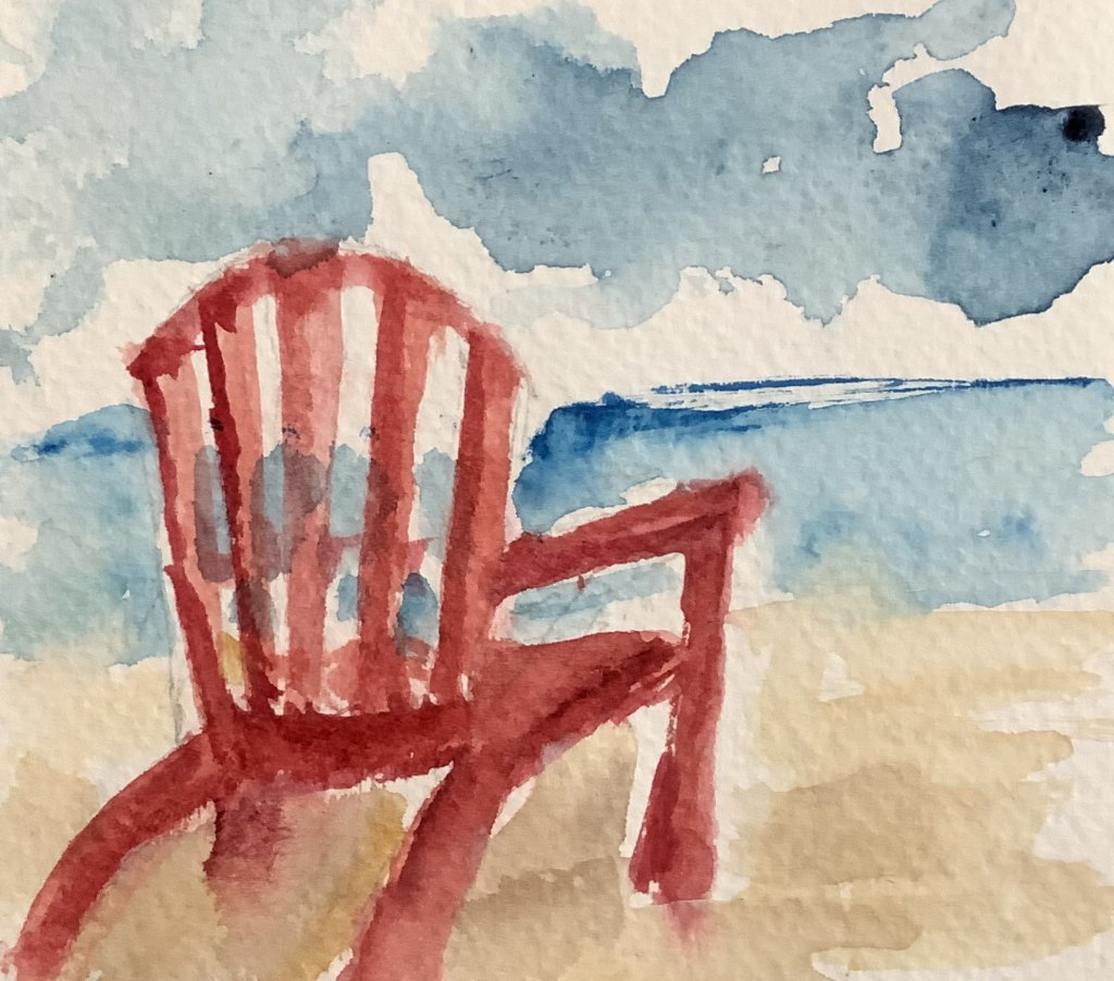 #doodlewashapril2021 day 15 arm chair IMG_3061
