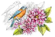 May 2021 Doodlewash Drawing Painting Challenge Main Image