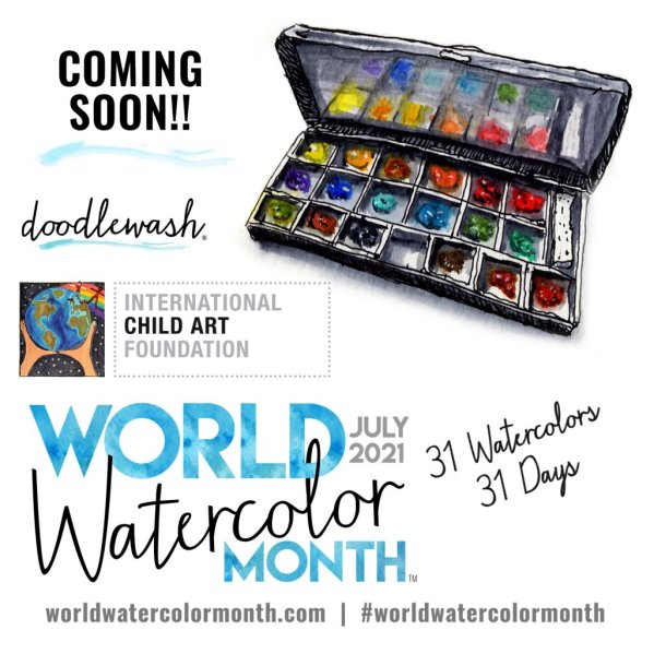 World Watercolor Month COMING SOON
