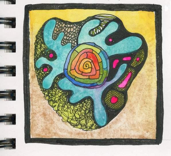 tiny doodle 2021 by Rebecca Fish Ewan