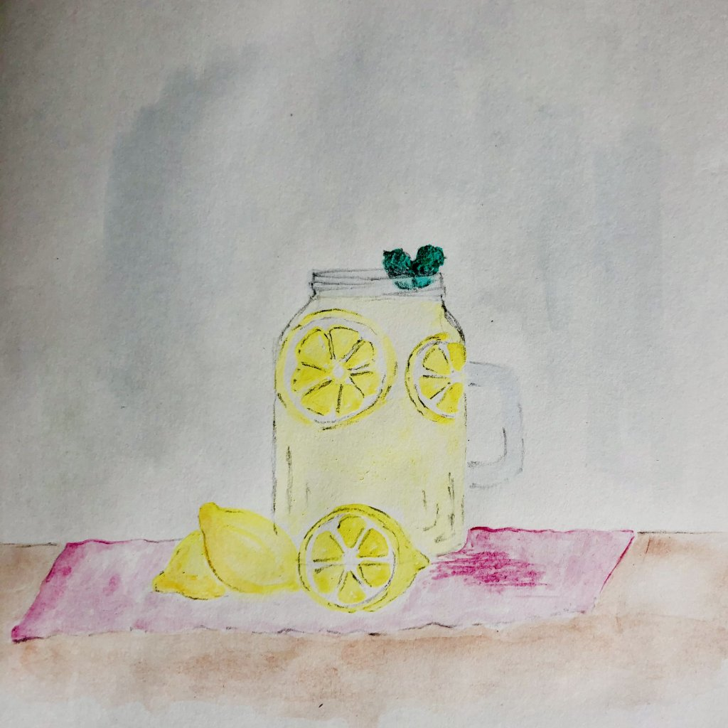 Day 1 Lemonade #doodlewashJune2021 #WorldWatercolorGroup C26AB1FF-4AA4-4CDC-893D-CE344C4FC02B