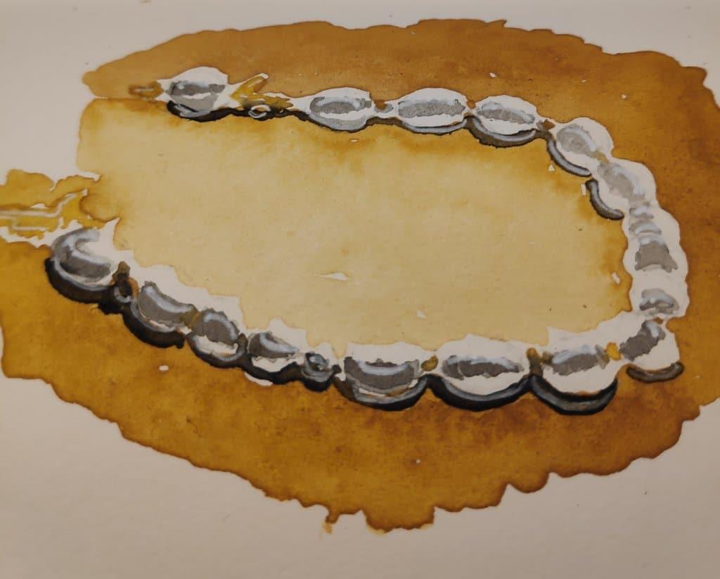 #day17 #pearls #doodlewashjune2021 #worldwatercolorgroup IMG_20210617_222551_685