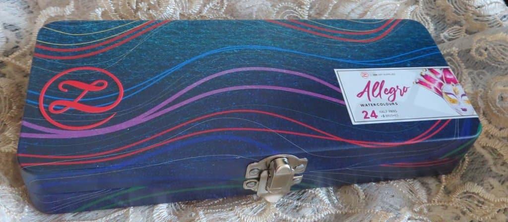 ZenART Allegro Watercolor closed case top