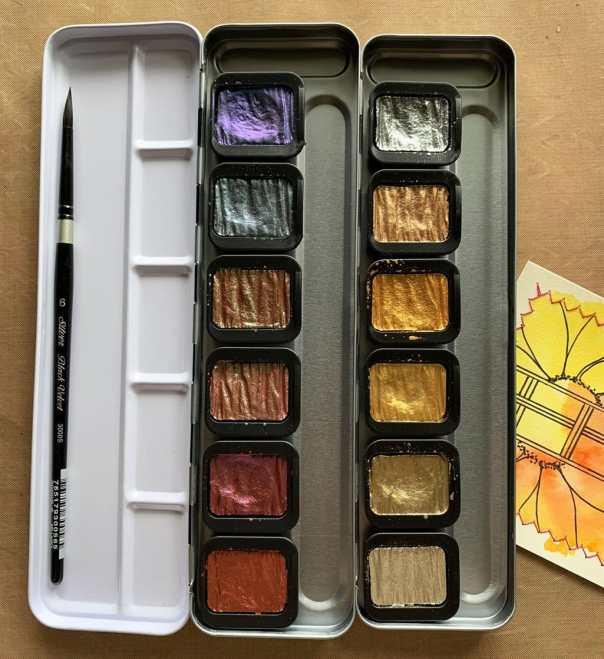 FINETEC Premium Pearlescent Colors 2 Palettes Photo