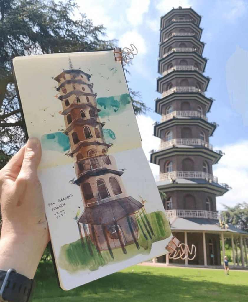 8 Kew Gardens Pagoda Ayna Paisley 2021