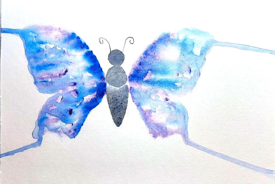 Splatter Butterfly
